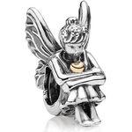 PANDORA Pixie Charm, Silver & 14K
