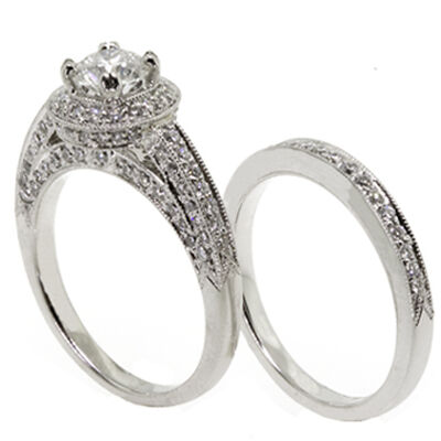 Ben Bridge Signature Diamond™ Wedding Set in Platinum