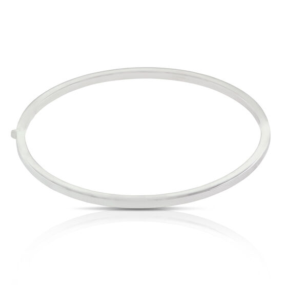 Roberto Coin Oval Bangle Bracelet 18K