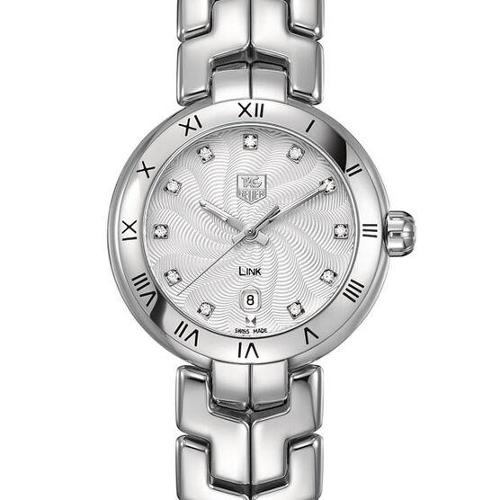TAG Heuer Link Diamond Watch, 29mm