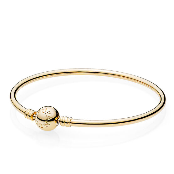 Pandora Bangle with Signature Clasp 14K