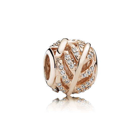 PANDORA Rose™ Light as a Feather Charm