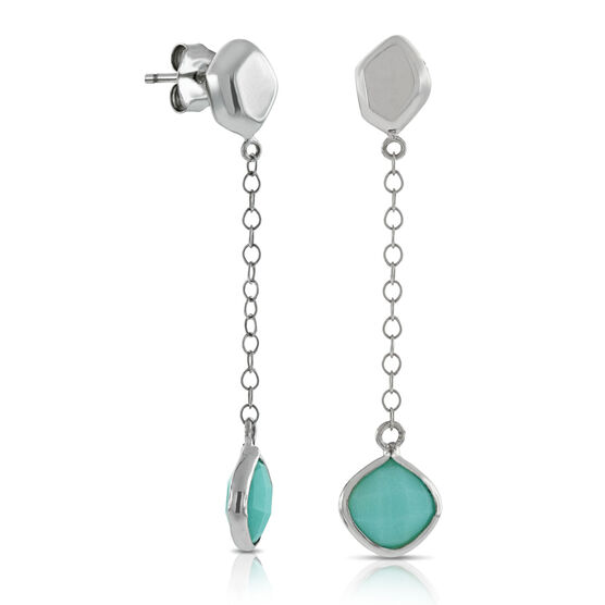 Lisa Bridge Amazonite Earrings