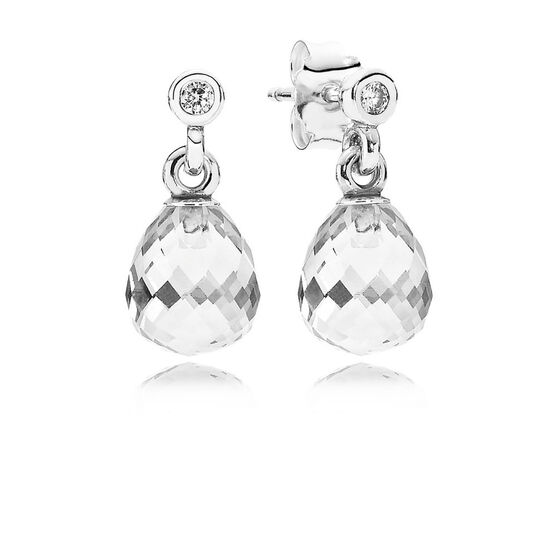 PANDORA Gemometric Drop Earrings