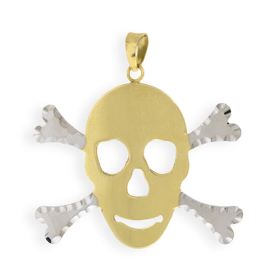 Skull Charm / Pendant 14K