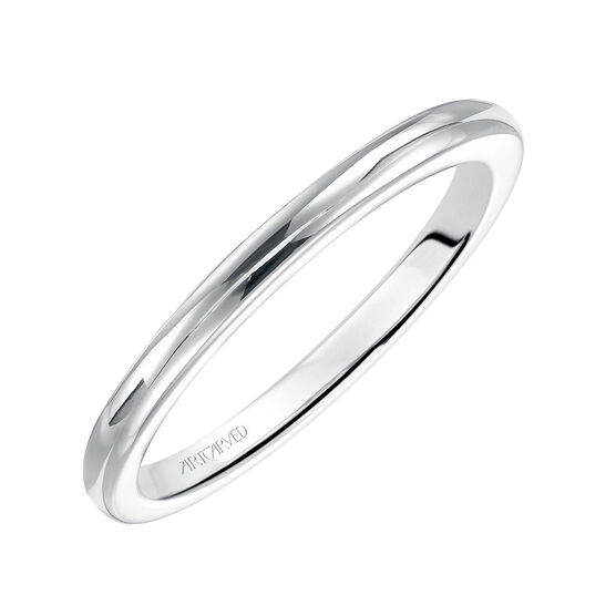 ArtCarved Lindsey Wedding Band 14K