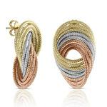 Toscano Arabesque Swirl Earrings 14K