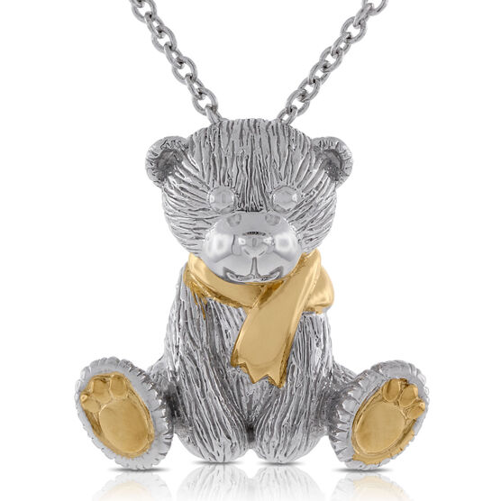 2013 Benny Bear Pendant in Sterling Silver