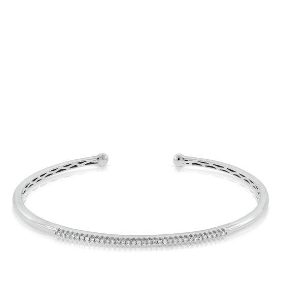 Diamond Cuff Bracelet 14K