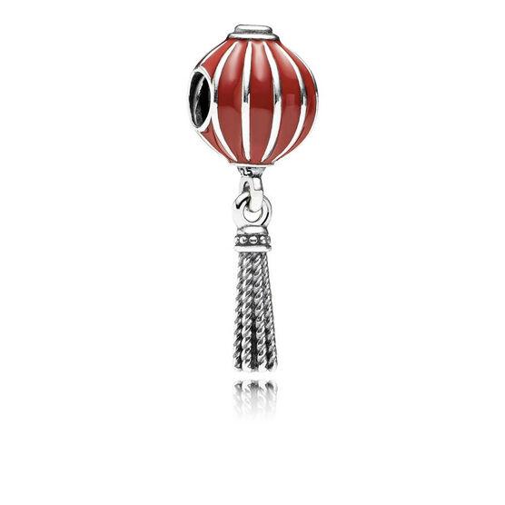 PANDORA Chinese Lantern Enamel Charm