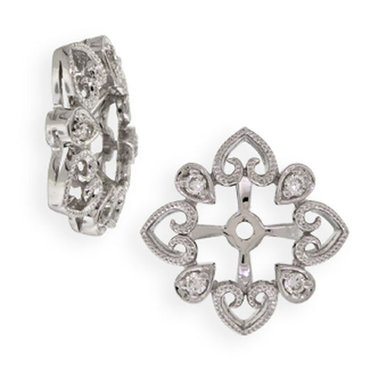 Diamond Earring Jackets 14K