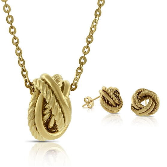 Toscano Collection 'LOVE' Knot Gift Set