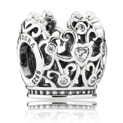 PANDORA Disney Princess Crown Charm
