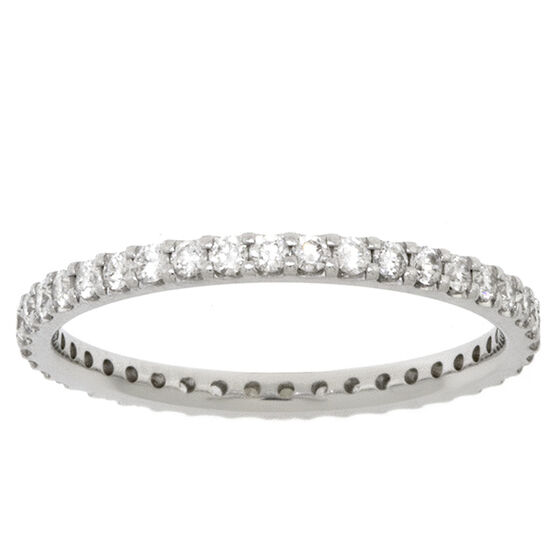 Diamond Eternity Band 14K, 1/2 ctw.