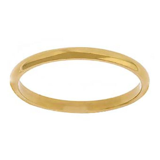 2mm Band 14K, Size 7