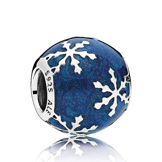 PANDORA Wintry Delight  Enamel Charm