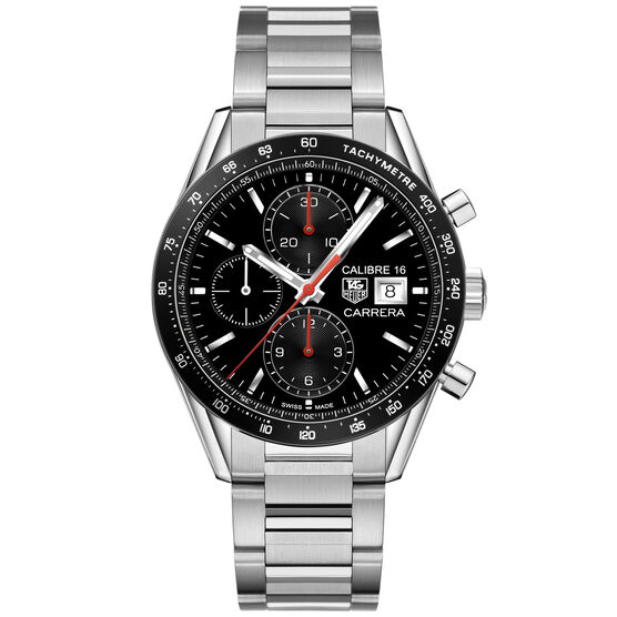 TAG Heuer Carrera Calibre 16 Racing Chronograph, 41mm