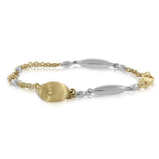 Dangle Bracelet 14K