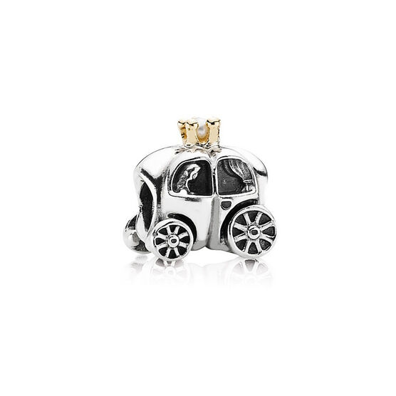 PANDORA Royal Carriage Charm, Silver & 14K