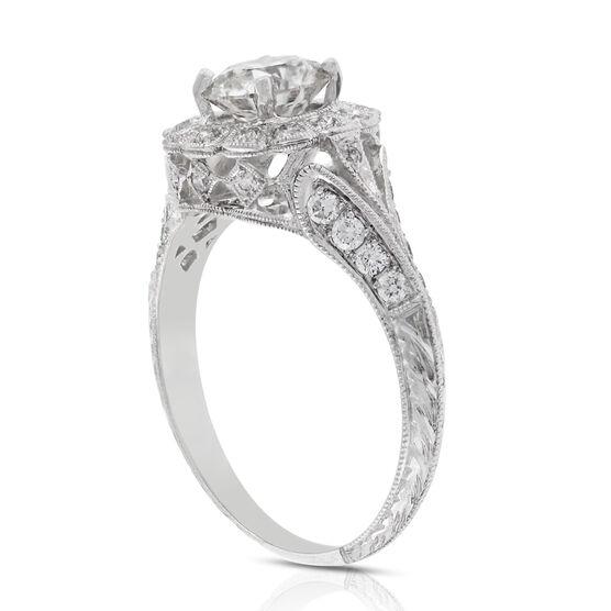 Diamond Engagement Ring 14K