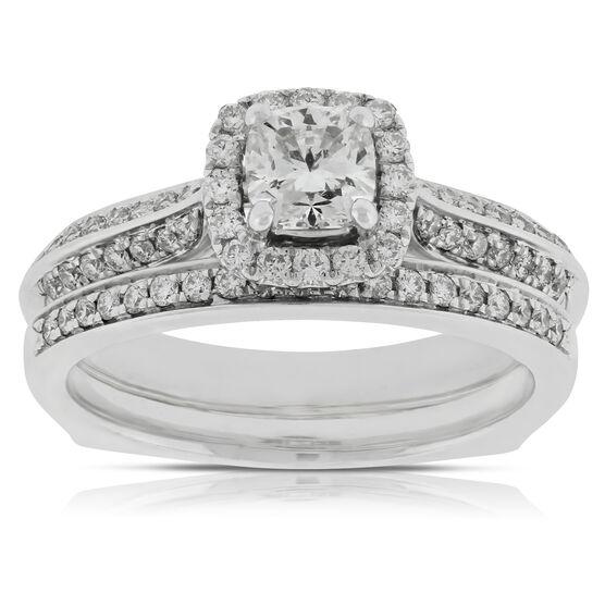 Ikuma Canadian Diamond Wedding Set 14K