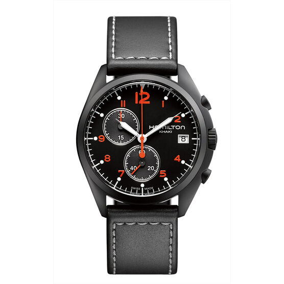 Hamilton Khaki Pilot Pioneer Chrono Quartz Watch