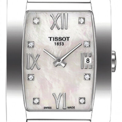 Tissot Generosi-T Mother-of-Pearl Diamond Watch