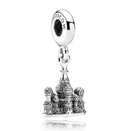 PANDORA St. Basil's Cathedral Charm RETIRED