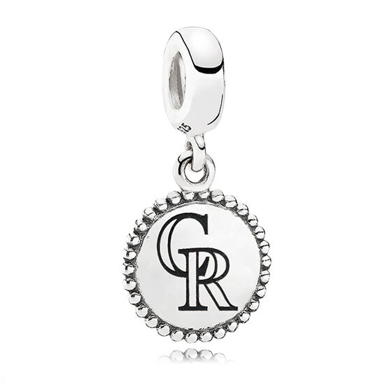 PANDORA Rockies MLB Dangle Charm
