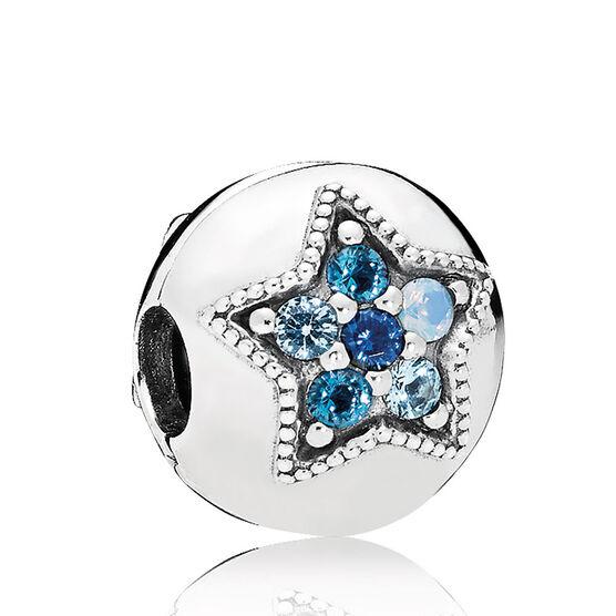 PANDORA Bright Star Crystal Clip