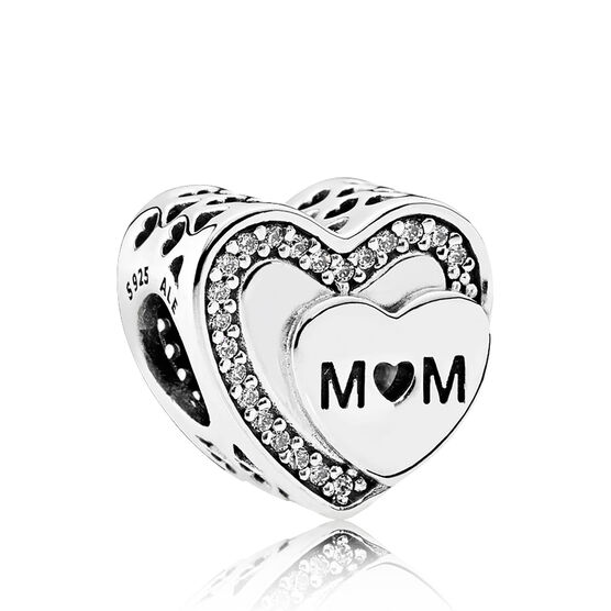 PANDORA Tribute to Mom CZ Charm