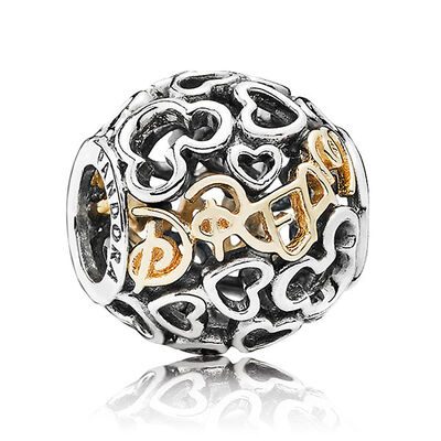 PANDORA Disney Dream Charm, Silver & 14K