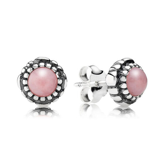 PANDORA Birthday Blooms October Earrings