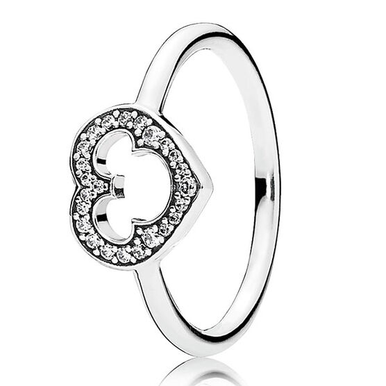 PANDORA DISNEY MICKEY SILHOUETTE RING