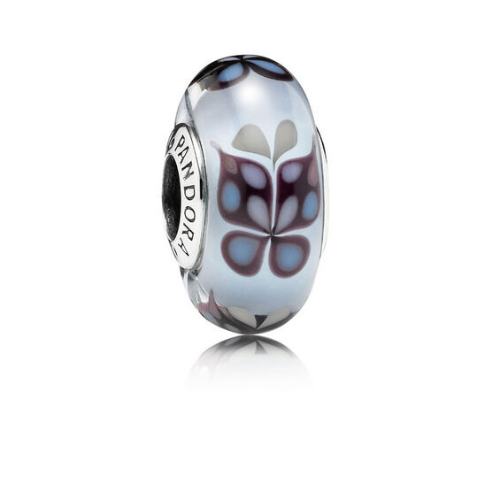 PANDORA Blue Butterfly Kisses Charm