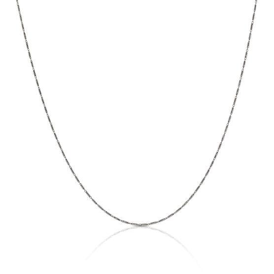 """Tubetto Diamond Cut Chain 14K, 18"""""""