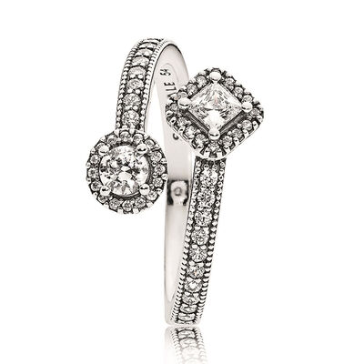 PANDORA Abstract Elegance CZ Ring