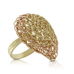 Toscano Woven Ring 14K