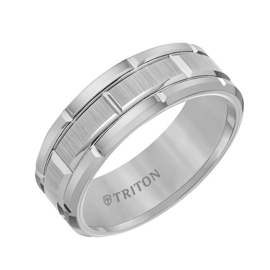 TRITON Grey Tungsten Band
