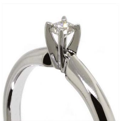 Ikuma Canadian Diamond Ring 14K, 1/10 ct.