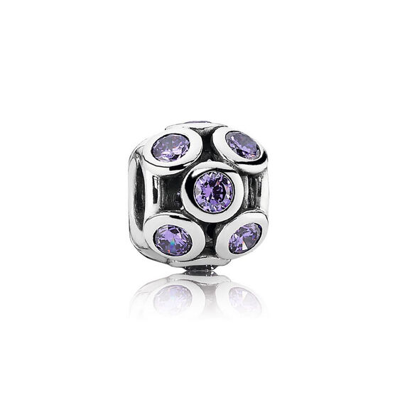 PANDORA Purple Whimsical Lights Charm