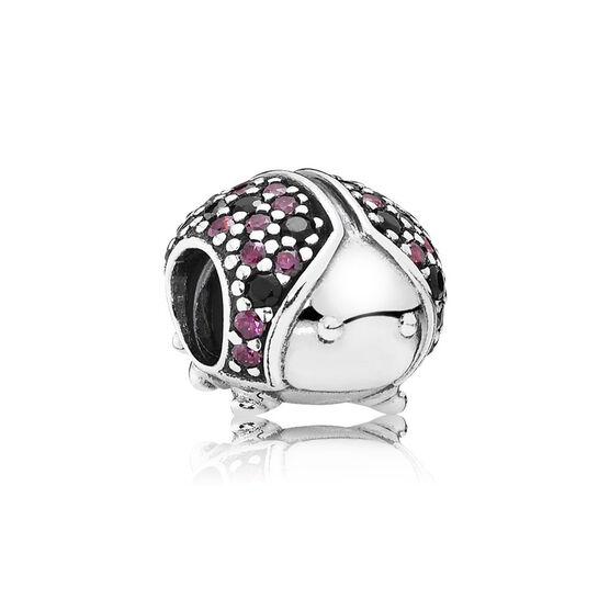 PANDORA Sparkling Ladybug Charm