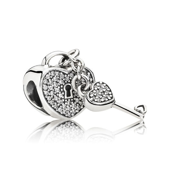 PANDORA Lock of Love Charm