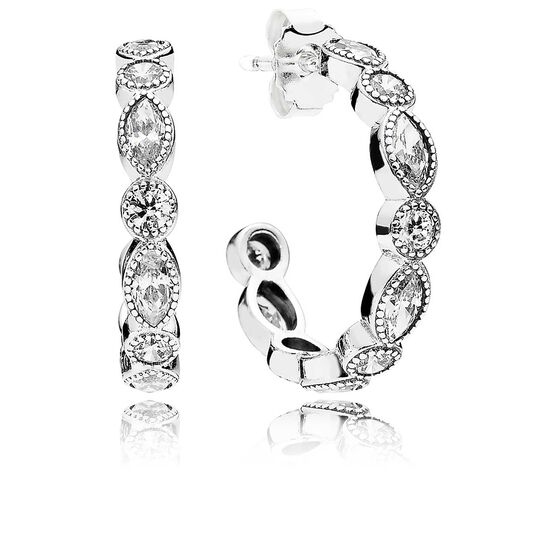 PANDORA Alluring Brilliant Marquise CZ Earrings