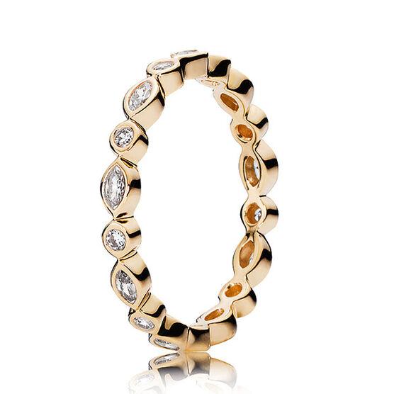 PANDORA Alluring Brilliant Marquise Ring 14K