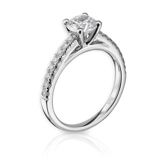 Scott Kay Diamond Semi-Mount Ring 14K