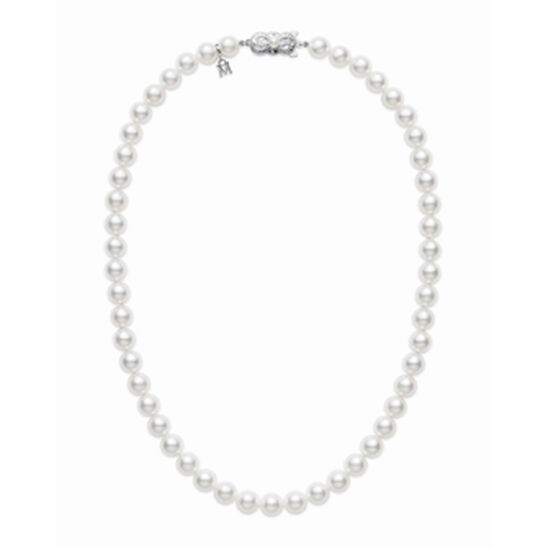 Mikimoto Akoya Cultured Pearl Strand, 6mm, A1, 18K, 16""