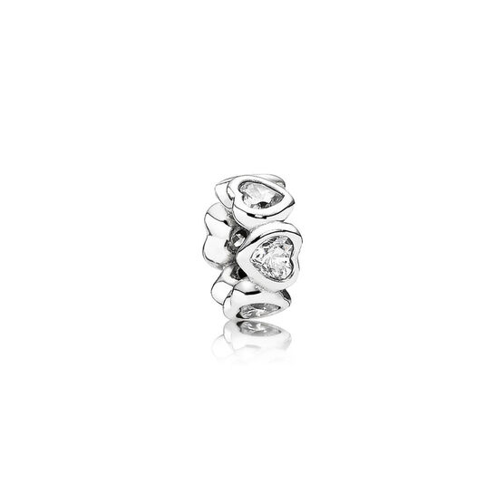 PANDORA Space in My Heart CZ Charm