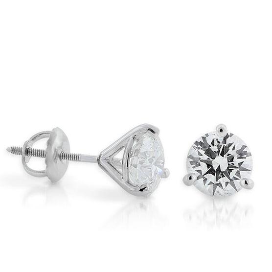 Ikuma Canadian Diamond Earrings 14K, 2 ctw.