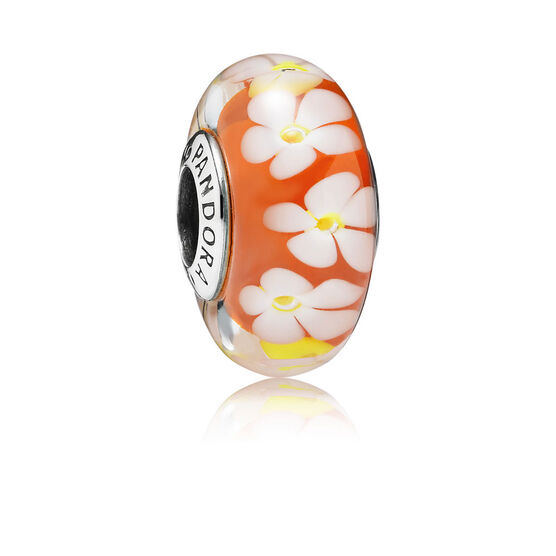 PANDORA Tropical Flower Charm